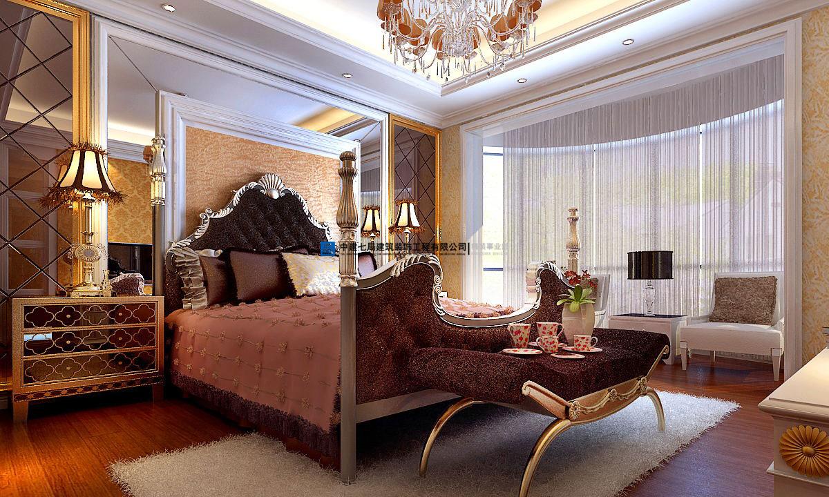 广汇pama四室两厅195平方欧式风格装修多少钱